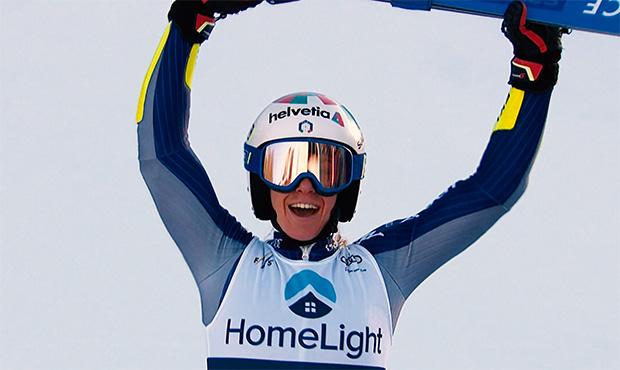 Marta Bassino überrascht alle mit dem Sieg im Riesentorlauf von Killington