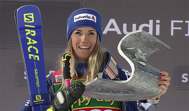 Marta Bassino startet mit ihrem Riesentorlauf-Sieg von Sölden optimal in den Ski-Weltcup Saison 2020/21