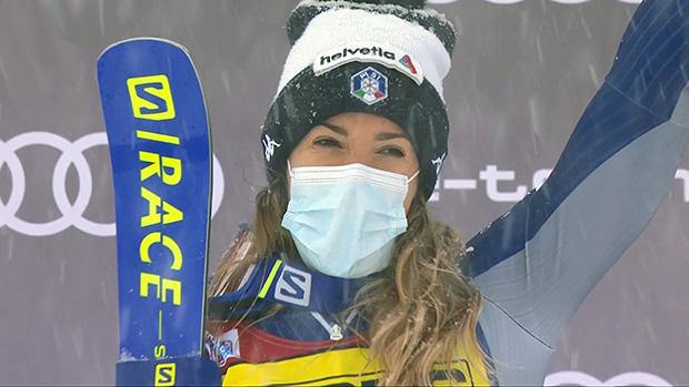 Marta Bassino gewinnt Riesenslalom am Samstag in Courchevel