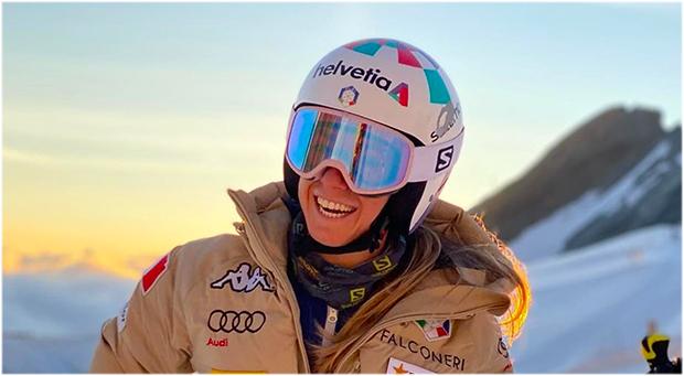 Nicht nur Marta Bassino freut sich auf den Skiweltcup Auftakt in Sölden (Foto: © Marta Bassino / Instagram)
