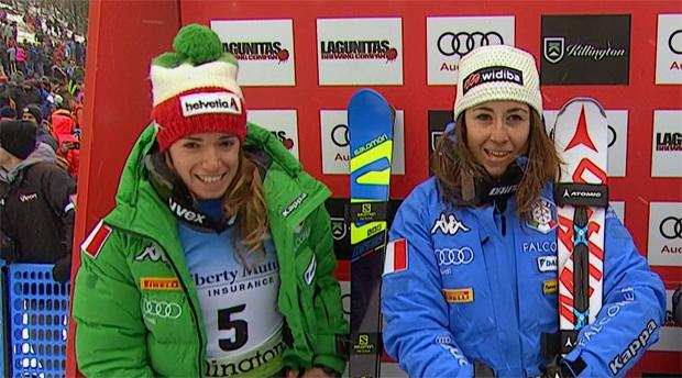 Marta Bassino und Sofia Goggia zeigten in Killington eine starke Leistung