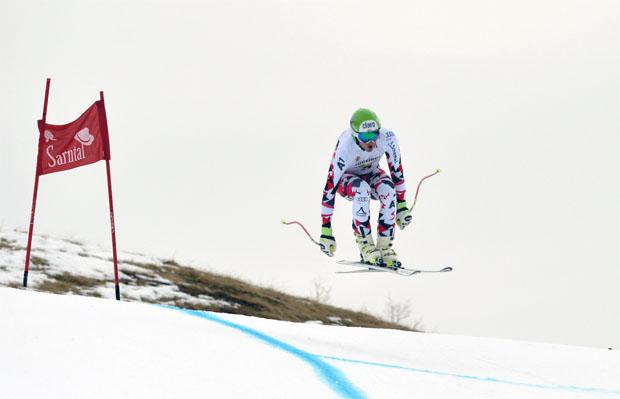 © Foto Oberkofler / Frederic Berthold gewinnt 1. Europacup-Abfahrt in Reinswald