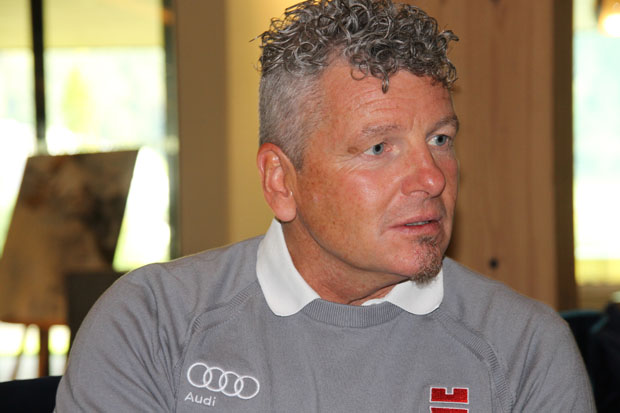 DSV-Herren-Bundestrainer Mathias Berthold im Skiweltcup.TV-Interview (Foto: Skiweltcup.TV / Walter Schmid)