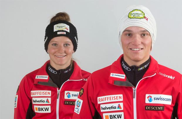 Ski-Geschwister Carole und Semyel Bissig wollen sich durchbeißen (Foto: Swiss-Ski.ch)