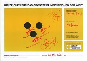 Blindenzeichen erstellt von Benni Raich