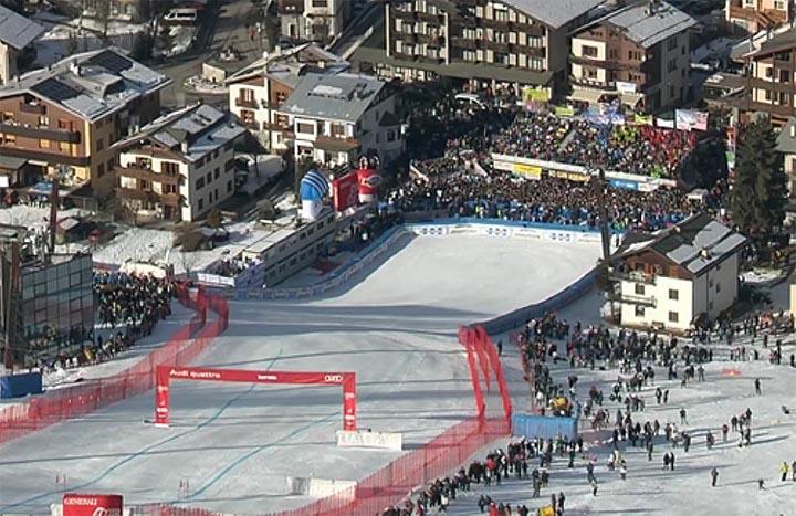 Bormio ist bereit für den Skiweltcup