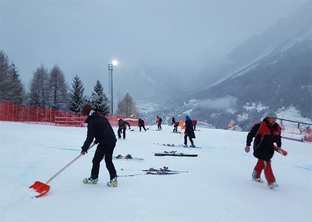 2. Abfahrtstraining der Herren in Bormio wurde abgesagt (Foto: FIS-Ski.com)
