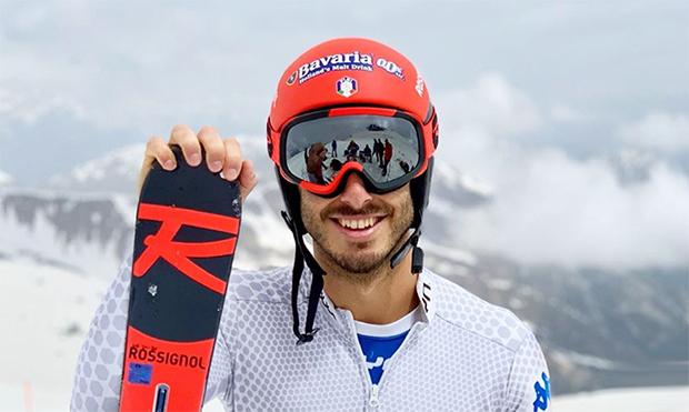Giovanni Borsotti wechselt auf Rossignol-Skier (© Giovanni Borsotti/Facebook)