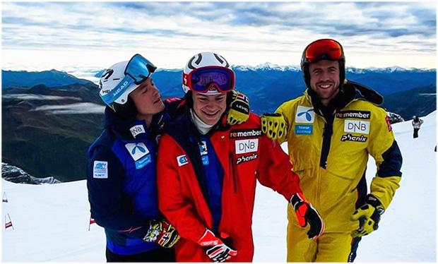 Atle McGrath, Lucas Braathen und Aleksander Aamodt Kilde sind wieder einsatzbereit (Foto: © Lucas Braathen / Instagram)