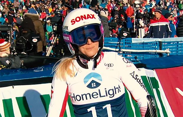 """Eva-Maria Brem: """"Zusammengefasst ist in diesem Winter wenig wirklich gut gelaufen."""""""