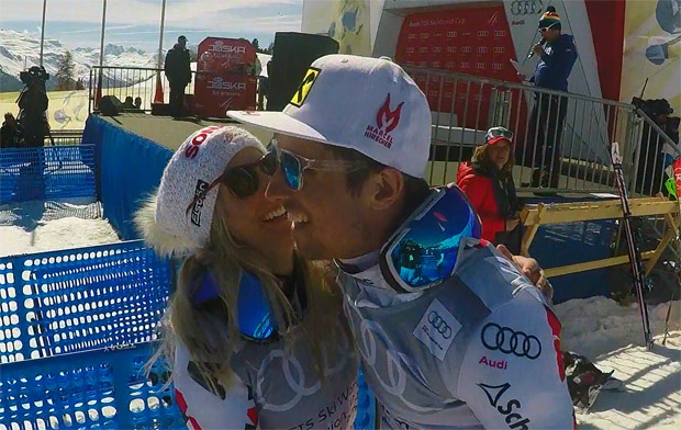 Eva-Maria Brem und Marcel Hirscher sind Österreichs Sportler des Jahres