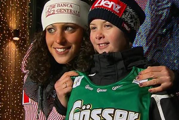 Frederica Brignone - 2. Platz beim Riesenslalom von Lienz