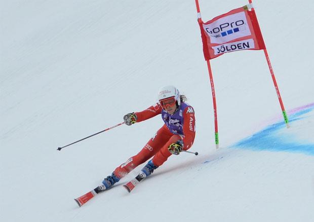© Ch. Einecke (CEPIX) / Federica Brignone freute sich über Platz 5