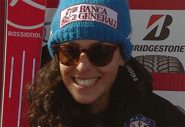 Federica Brignone konnte sich über Platz sechs freuen