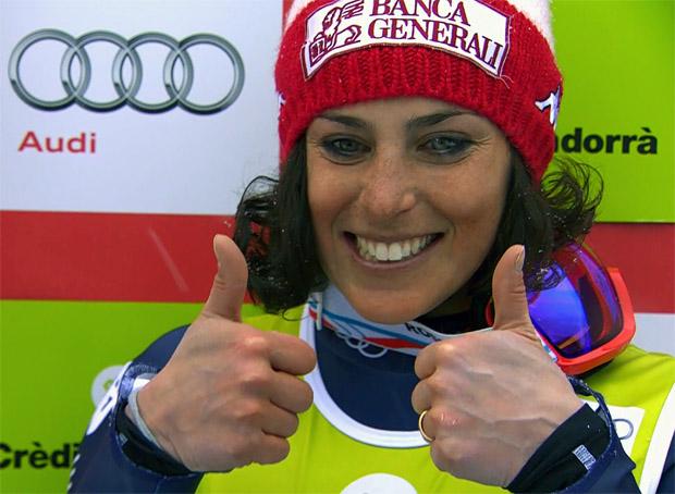 Federica Brignone gibt 100 Prozent und trainiert immer hart
