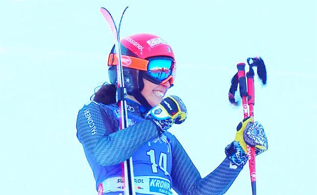 Fede Brignone gewinnt Weltcup-Riesenslalom auf dem Kronplatz