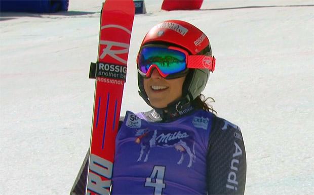 Federica Brignone gewinnt Riesenslalom in Aspen