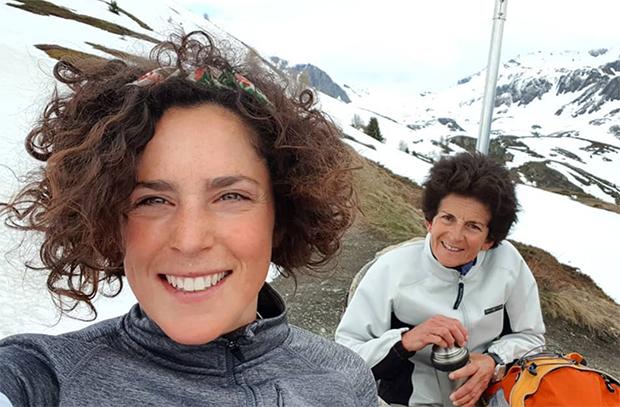 Auszeichnung für Federica Brignone und ihre Mutter Maria Rosa Quario (© Federica Brignone / instagram)