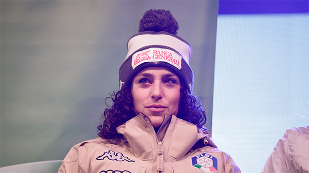 Federica Brignone fühlt sich in Killington pudelwohl (© Claudia Egger / Skiweltcup.TV)