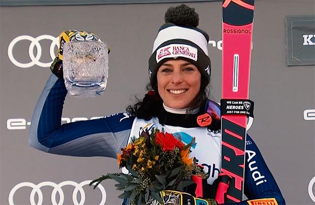 Federica Brignone startet in Lake Louise nur im Super-G