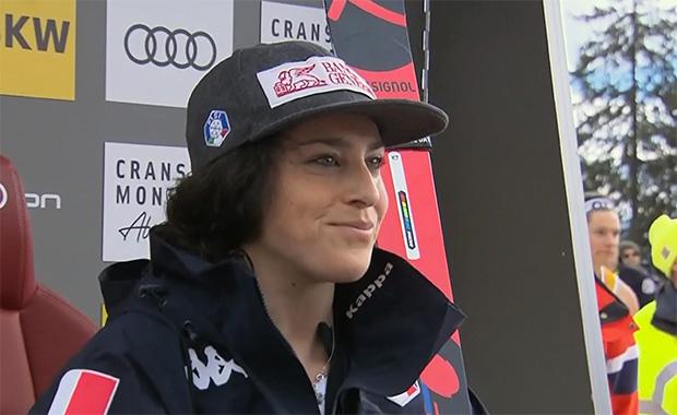 Federica Brignone greift in Crans Montana nach Kombi-Sieg und Gesamtweltcupführung