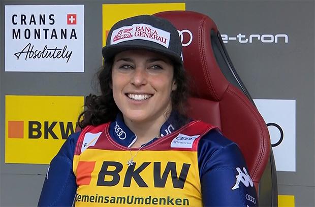 Federica Brignone gewinnt Alpine Kombination in Crans Montana und übernimmt Führung im Gesamtweltcup.