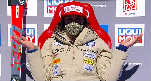Federica Brignone meldet sich zurück und gewinnt Super-G in Val di Fassa