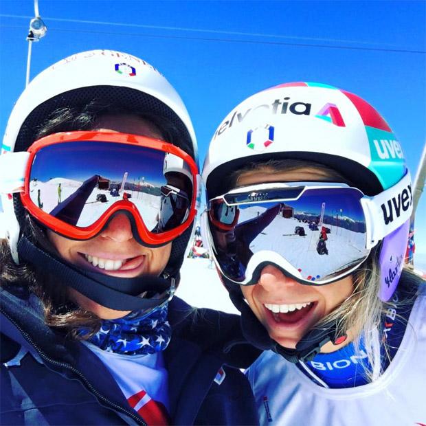 Federica Brignone und Marta Bassino (Foto: Federica Brignone / Facebook)