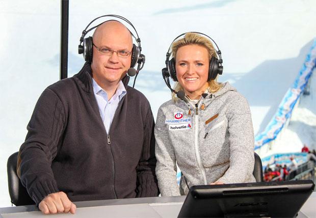 Peter Brunner und Alexandra Meißnitzer (Foto: ORF)