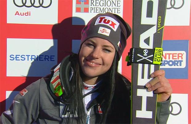 Mit Platz acht zu ihrer Stärke zurückgefunden: Stephanie Brunner.