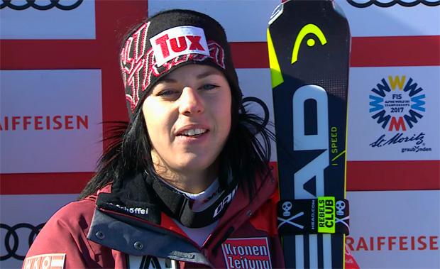 ÖSV NEWS: RTL-Gold für Tessa Worley - Stephanie Brunner Fünfte