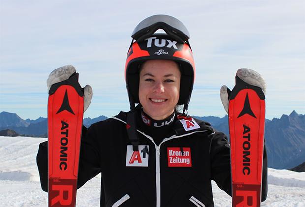 Stephanie Brunner hat ihre Zuversicht nicht verloren (Foto: © Bild: ÖSV/Manuela Riegler)