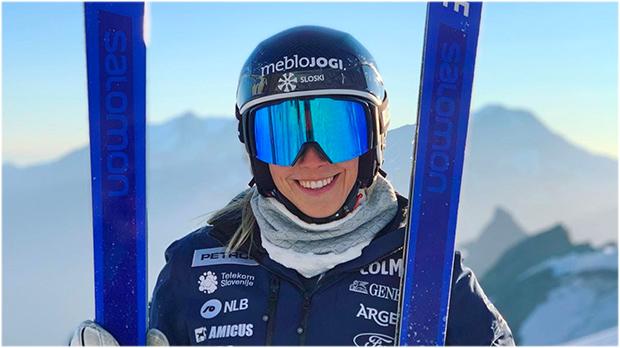Ana Bucik möchte in Peking um die Spitzenplätze mitfahren ( Foto: © Ana Bucik / Instagram)