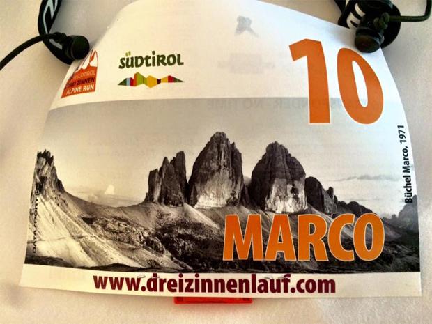 Startnummer 10: Marco Büchel meistert Berglauf im Hochpustertal (Foto: Marco Büchel / Facebook)