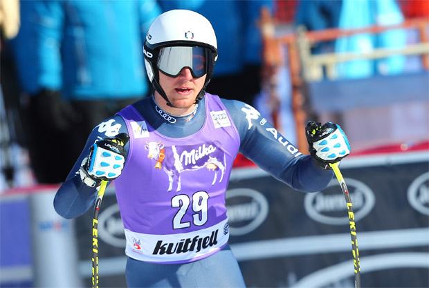 © Kraft Foods  /  Mattia Casse gewinnt nationalen Super-G-Titel in Italien