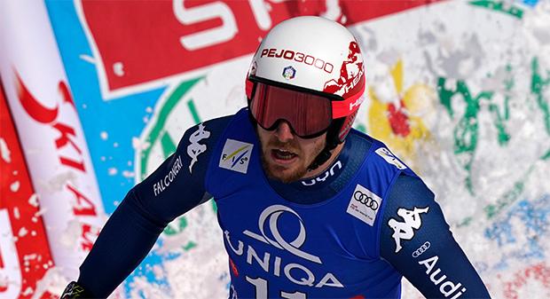 Mattia Casse will zum Sprung auf das Podest ansetzen (Foto: © Archivio FISI Gio Auletta / Pentaphoto)
