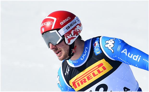 Mattia Casse darf die gute Platzierung in der Super-G-Wertung behalten (Foto: © Archivio FISI/ Pentaphoto/ Pier Marco Tacca)