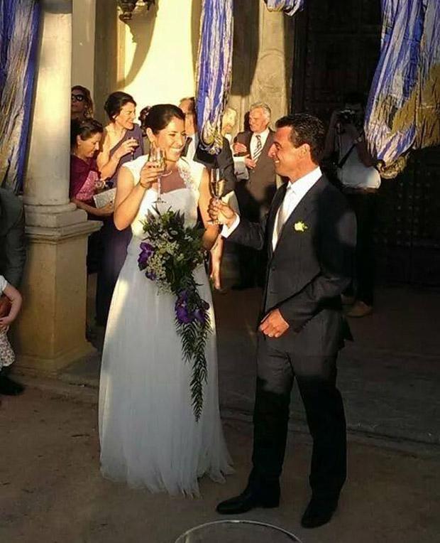 © facebook privat / Die Hochzeit von Carolina Ruiz Castillo