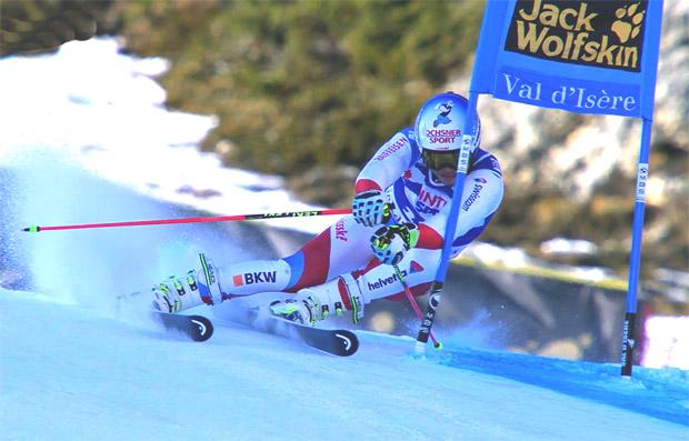 Gino Caviezel holt sich Schweizer Meistertitel im Super-G 2017