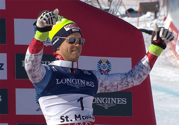 SKI WM 2017 - Alpine Kombination: Bronze-Junge Mauro Caviezel im Portrait