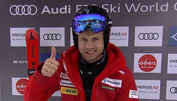 Mauro Caviezel wird in rund einem halben Jahr wieder auf den Skiern stehen