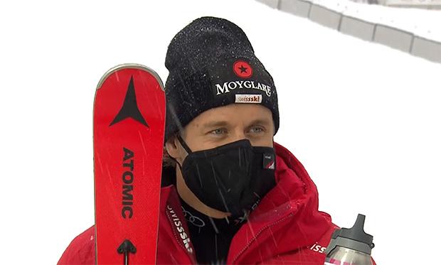Ski WM 2021: WM-Super-G der Männer mit Mauro Caviezel