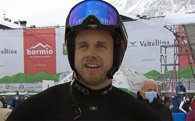 Mauro Caviezel landet im Super-G von Bormio als bester Schweizer auf Rang fünf