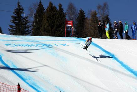LIVE: Abfahrt der Herren in Chamonix am Freitag