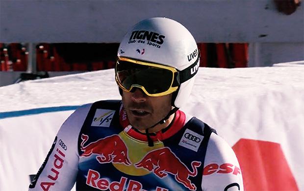 Johan Clarey mit Bestzeit beim Abfahrtstraining von Garmisch-Partenkirchen