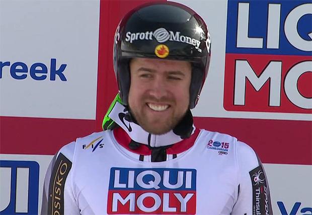 SKI WM 2015: Dustin Cook holt sensationell Silber im Super-G