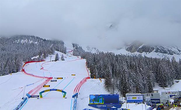 LIVE SKI WM 2021: Der Super-G der Damen in Cortina d'Ampezzo ist wegen Nebel abgesagt