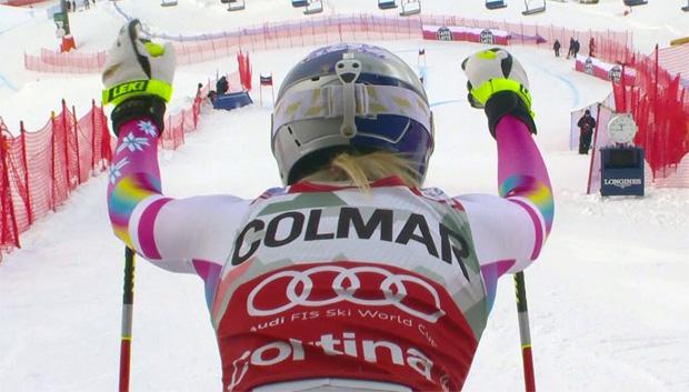 Super-G der Damen in Cortina d'Ampezzo am Montag um 10.45 Uhr