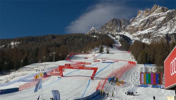 Cortina d'Ampezzo rüstet sich für die alpine Ski-WM im Februar 2021