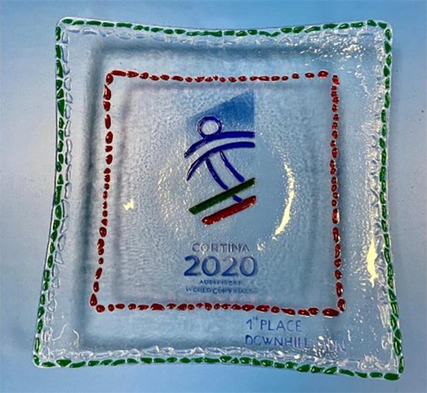 Cortina 2020 - 1st place Downhill Men Trofeo Finali Coppa del Mondo di Sci